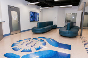 The Miami Hand Center waiting room